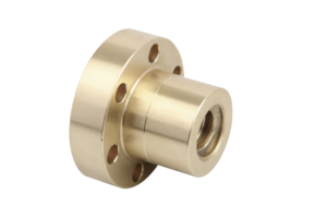 Trapezoidal thread nuts with flange double-start, RH thread