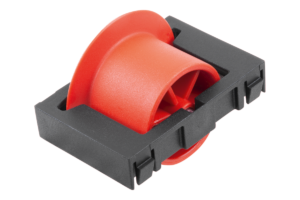 ROLLER ELEMENT FOR ROLLER RAILS WITH