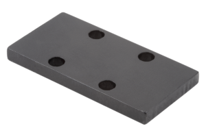 Adapter plates for clamping elements
