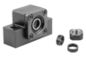 Fixed bearing units block version, Form B