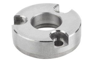 Adapter bushes, stainless steel Form B (screw front side)