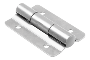 Hinges, stainless steel with preset friction