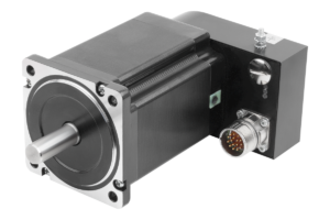 STEPPER MOTOR WITH POSITIONING CONTROL