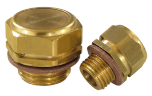Vent screws brass