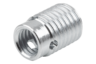 Threaded insert, steel, self-tapping, type B