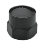 Hexagon domed cap nuts similar to DIN 1587