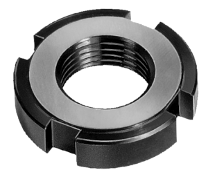 Slotted round nuts DIN 1804