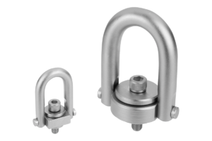 Hoist rings with Envirolox® coating