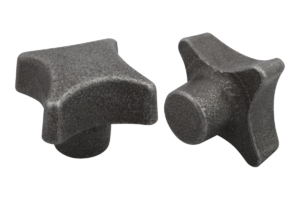 Palm grips DIN 6335, grey cast iron, Form A, blank