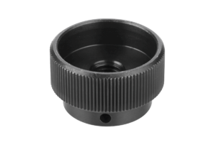 Knurled nuts steel DIN 6303 Form B, with pinhole