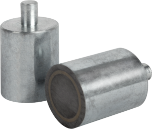 Magnets deep pot with pin AlNiCo