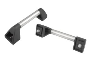 Tubular handles Form A, with screwhead counterbore