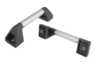 Tubular handles Form B, with threaded insert