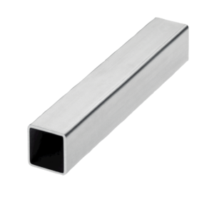 SQUARE TUBE D1=25 ±0,3 L=1000 STEEL
