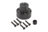Mandrel collets with side lock, Form A for work centres, drills and milling machines