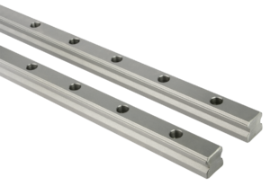 Profile guide rails