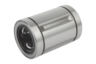Linear ball bearings with steel cage, closed