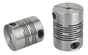 Beam couplings with radial clamping hub, stainless steel