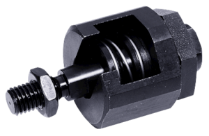 Quick-fit couplings with angular and radial offset compensation