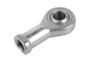 Rod ends with plain bearing internal thread, stainless steel
