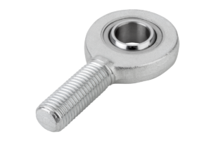 Rod ends with plain bearing external thread, narrow version