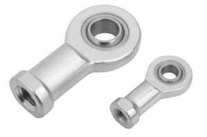 Rod ends with plain bearing internal thread, narrow version
