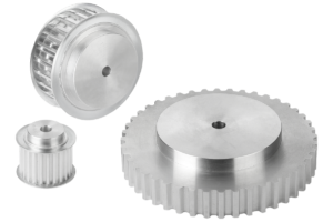 Toothed belt pulleys, T10 profile