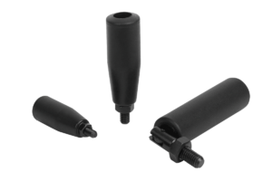 Cylindrical grips fold-down
