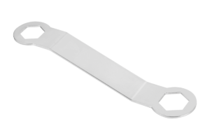Double-ended ring spanner