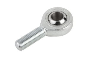 Rod ends with plain bearing external thread
