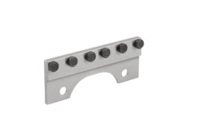 Jaw plates with pins