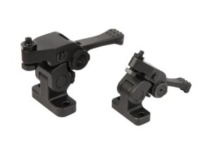 Swivel hold-down clamps mini, with cam lever