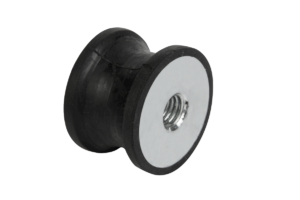 Rubber buffers type CT tapered