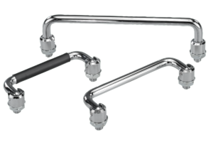 Pull handles fold-down