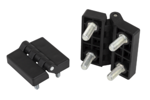 Hinges plastic with fastening screws