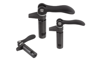 Hook clamps with collar and cam lever