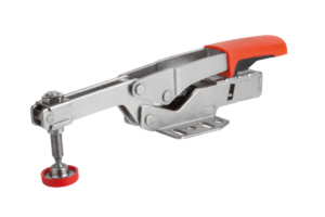 Toggle clamps variable, horizontal, with horizontal foot