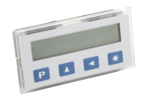 Position indicator quasi-absolute, mains-independent, indicator accuracy 10 µm, small design