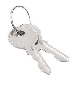 Keys for latches and locks, Form S