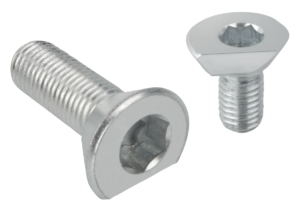 Spiral cam screws