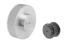 Toothed pulleys profile HTD 5M, for 15 mm wide belts