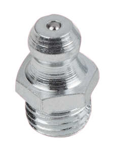Grease nipples conical head DIN 71412, Form A, straight