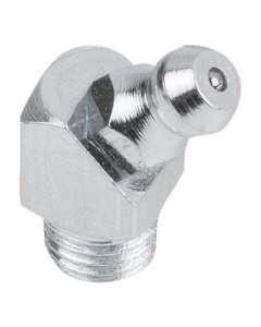 Grease nipples conical head DIN 71412, Form D, 45°, square