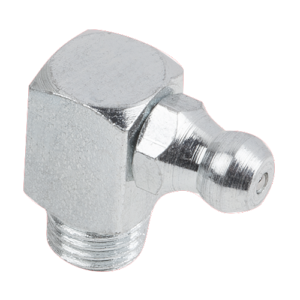 Grease nipples conical head DIN 71412, Form E, 90°, square