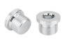 Screw plugs with collar and hexagon socket DIN 908