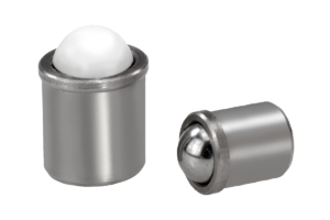 Spring plungers smooth version, stainless steel