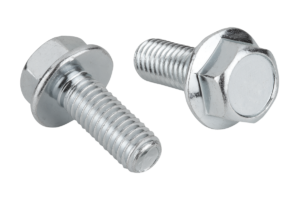 Hexagon head bolts with flange, EN 1665