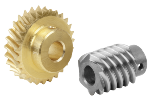 Worm gears, right-hand centre distance 17 mm