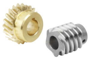 Worm gears, right-hand centre distance 22.62 mm