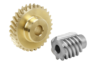 Worm gears, right-hand centre distance 31 mm